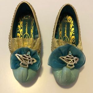 Princess Jasmine shoes size 11/12 (girls)
